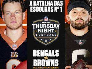 Confira os jogos da semana 2 da NFL. Começa nesta quinta