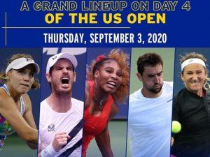 Dia 4 do US Open tem campeã da Austrália, Serena e Thiem