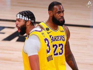 Lakers vencem fácil Miami Heat no jogo 1 das finais da NBA