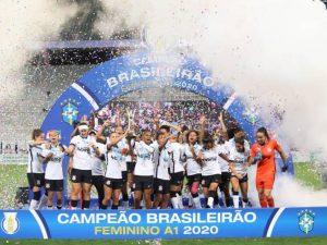 Corinthians vence Avaí e é campeão do Brasileiro Feminino