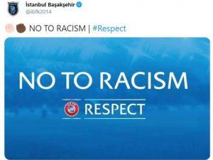 PSG e Istanbul deixam jogo após fala racista de quarto árbitro