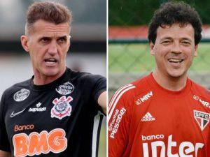 Corinthians x São Paulo é atração da 25ª rodada. Tricolor lidera