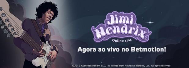 Jimi Hendrix Ao Vivo no Betmotion!