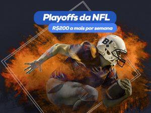 Playoffs da NFL no Betmotion: aposte e receba Bônus!
