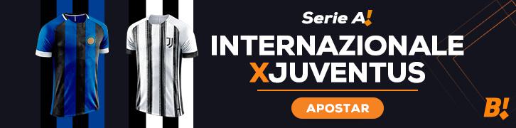 arte Internazionale de Milão x Juventus (clássico italiano)