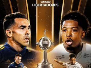 Santos inicia semifinais contra o Boca em La Bombonera