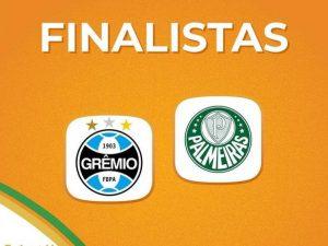 Grêmio e Palmeiras farão final da Copa do Brasil