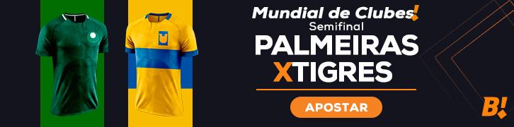 arte Betmotion para Palmeiras x Tigres
