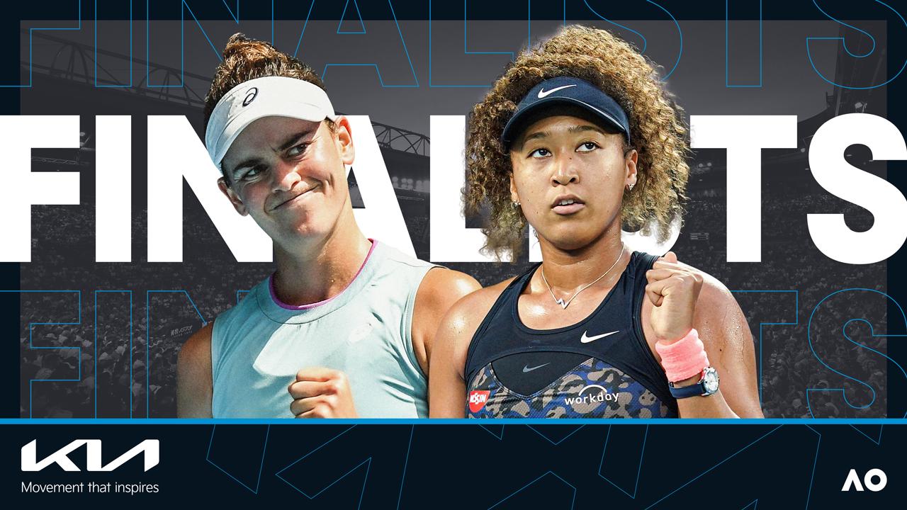 Título da chave feminina do Australian Open 2021 será disputado entre americana Jennifer Brady e a japonesa Naomi Osaka