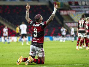 Fla vence Vasco, Inter tropeça e diferença cai para dois pontos