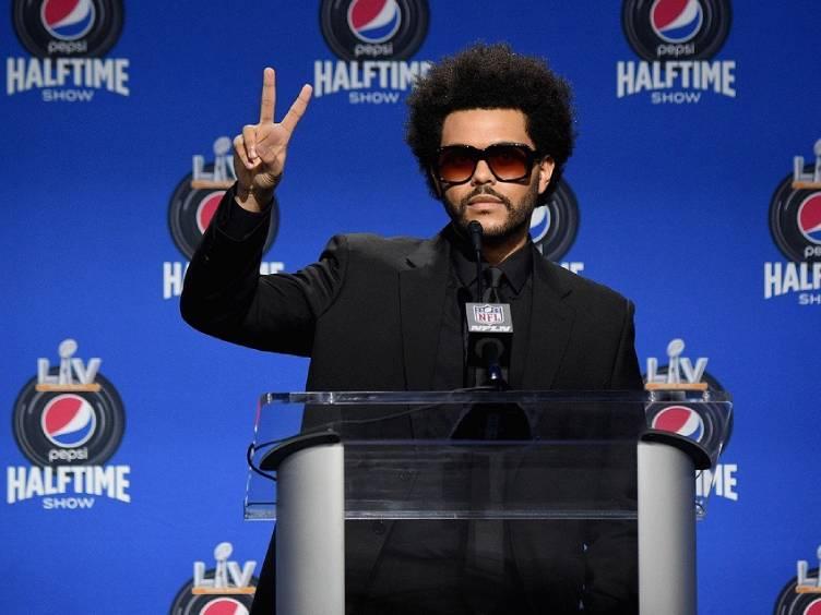 The Weeknd, atração do halftime show do Super Bowl LV