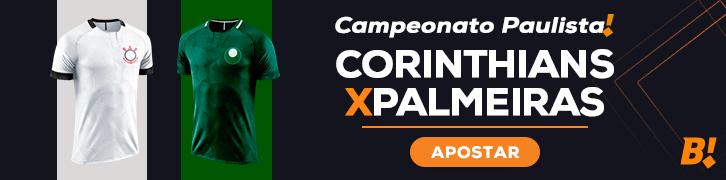 banner corinthians x palmeiras paulista 2021 - primeira fase