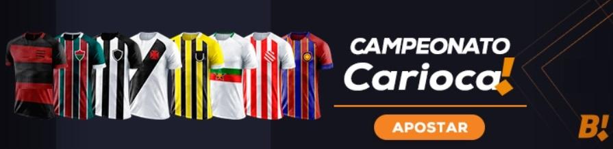 arte do betmotion para o campeonato carioca de 2021