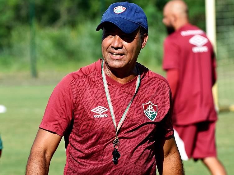 auxiliar ailton será o técnico do flu na estreia do carioca 2021