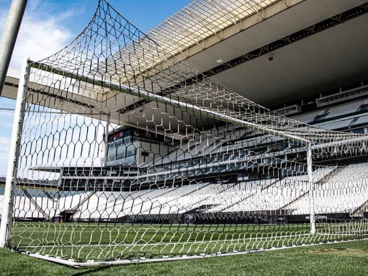 foto do estádio do Corinthians em Itaquera (SP, a Neo Química Arena