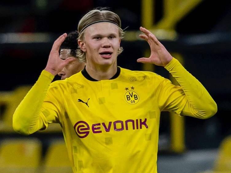 Haaland, o mais jovem jogador a fazer 20 gols na Champions