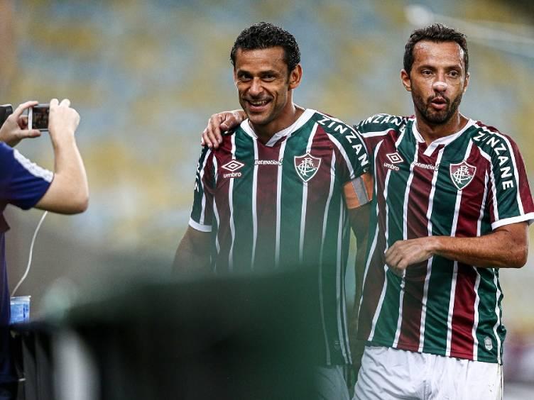 fred comemora gol 400 na carreira na vitória do fluminense sobre o nova iguaçu
