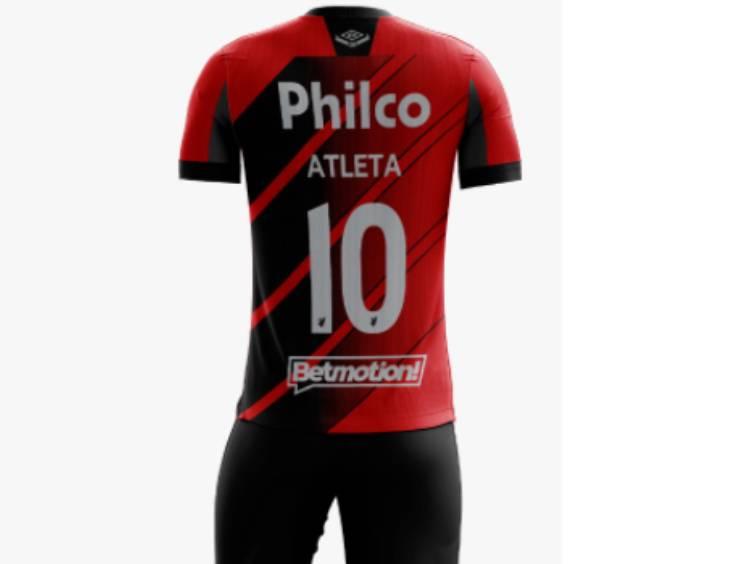 betmotion patrocina camisa do athletico paranaense