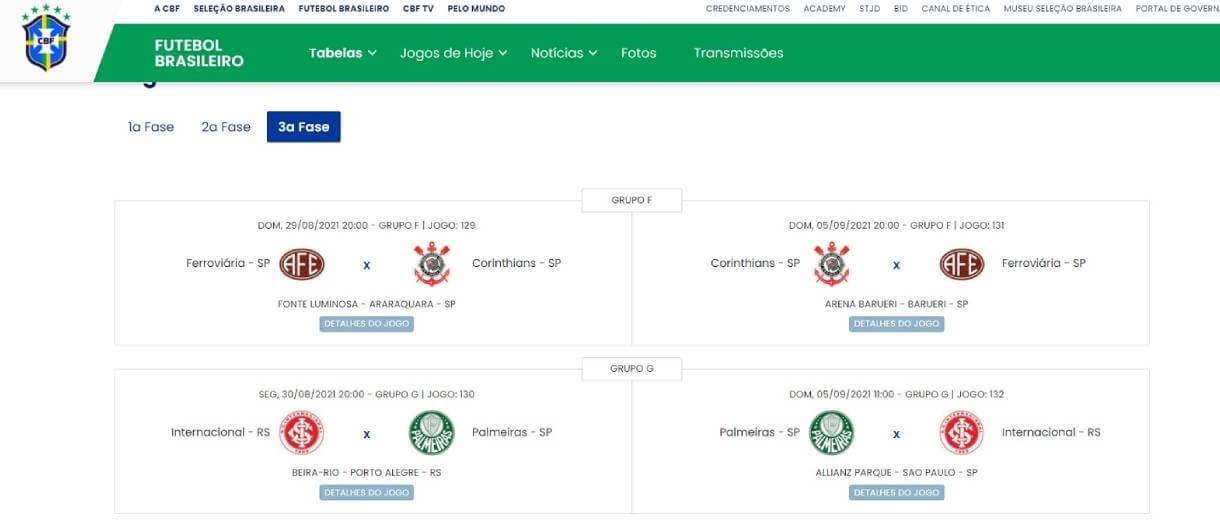 site-da-cbf-semifinais-brasileiro-feminino-a1-2021