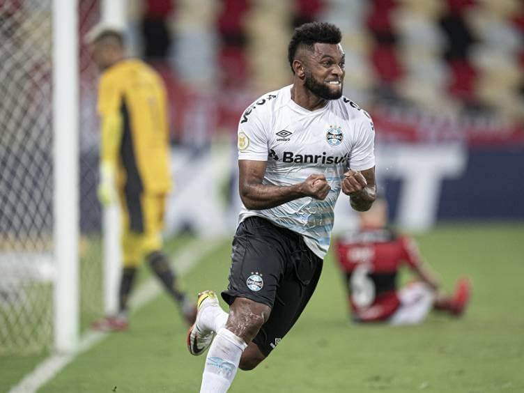 borja gol em flamengo 0 x 1 grêmio - brasileiro 2021