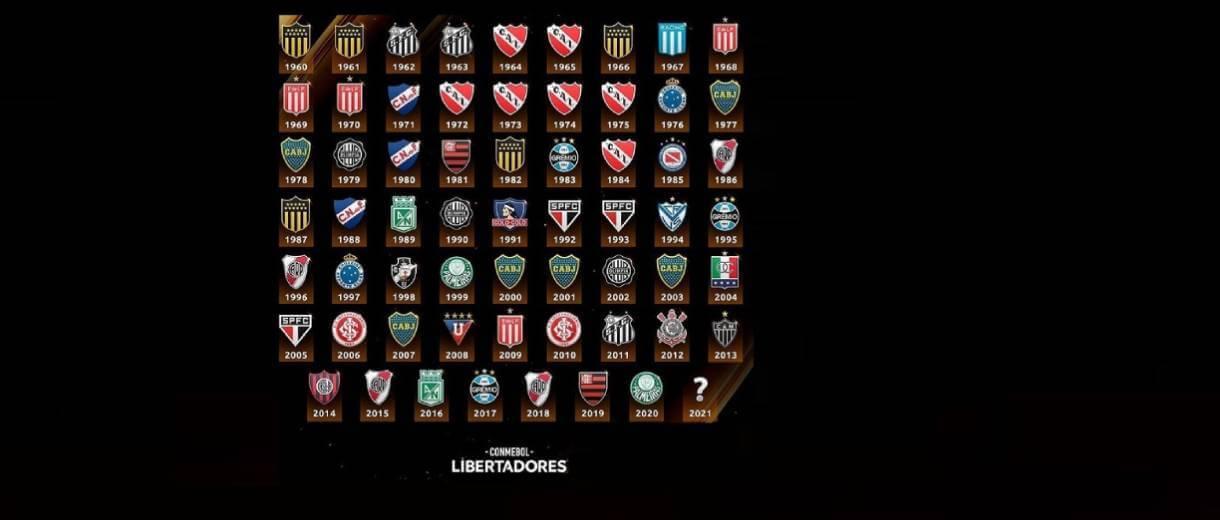 destaque-times-campeoes-libertadores-1960-2020