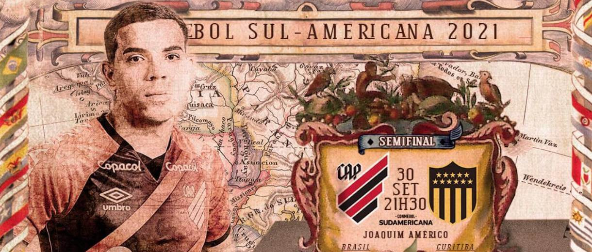 imagem-arte-athletico-paranaense-semifinal-sul-americana-2021-divulgacao