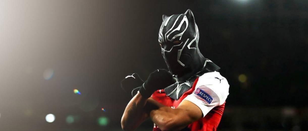 twitter-aubameyang-arsenal-mascara-pantera-negra